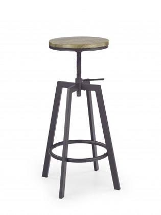 Bazar kuchyně, jídelny H64 - Barová židle (hnědá)