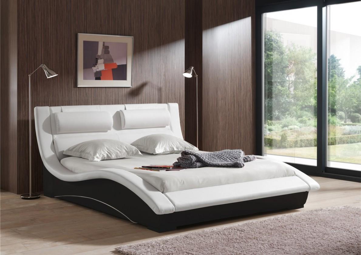 Bazar ložnice BETTY (bicolore white-black, sk. VI)