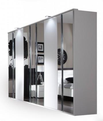 Bazar ložnice Davos - Šatní skříň