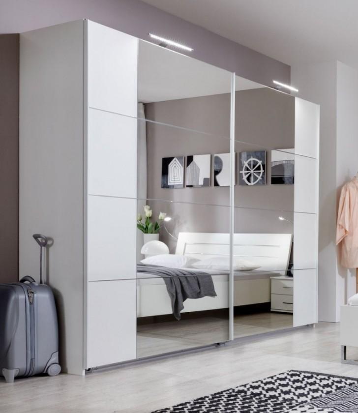 Bazar ložnice Davos - skříň s posuvnými dveřmi, 225 cm