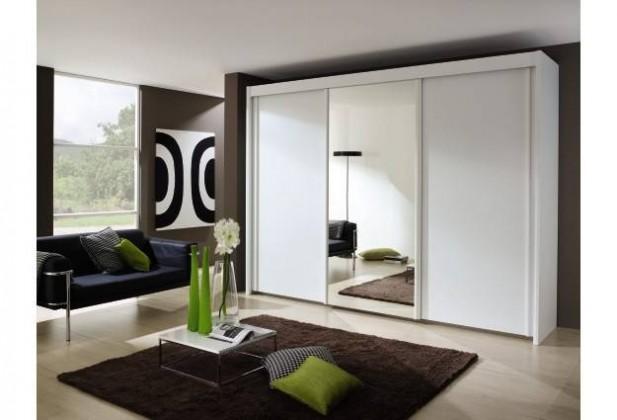 Bazar ložnice Imperial A8016.5i13 (Alpská bílá/zrcadlo)