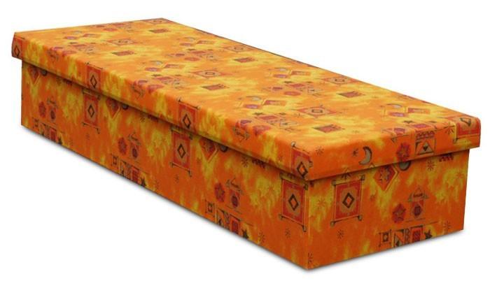 Bazar ložnice Iva (oranžová)