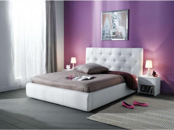 Bazar ložnice Jasmine 200x180 - Rám postele (madryt 120)