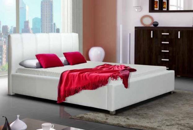 Bazar ložnice Postel I - 180x200 cm (bílá)