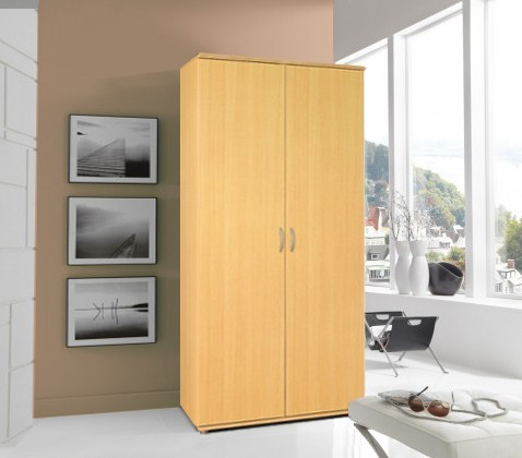 Bazar ložnice Twin 2D - Šatní skříň (buk)