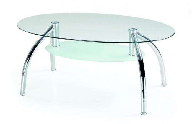 Bazar obývací pokoje Berta - Konferenční stolek (sklo)