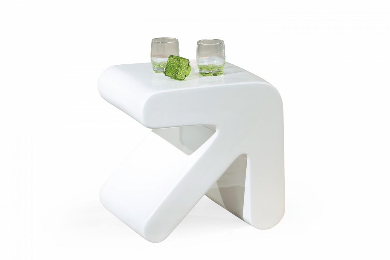 Bazar obývací pokoje Erati - Konferenční stolek (bílá)