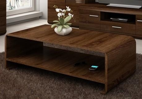 Bazar obývací pokoje Link - Konferenční stolek (dub chocolate)