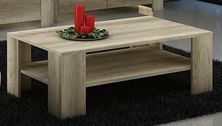 Bazar obývací pokoje Sky - Konferenční stolek SL103 (country šedá)