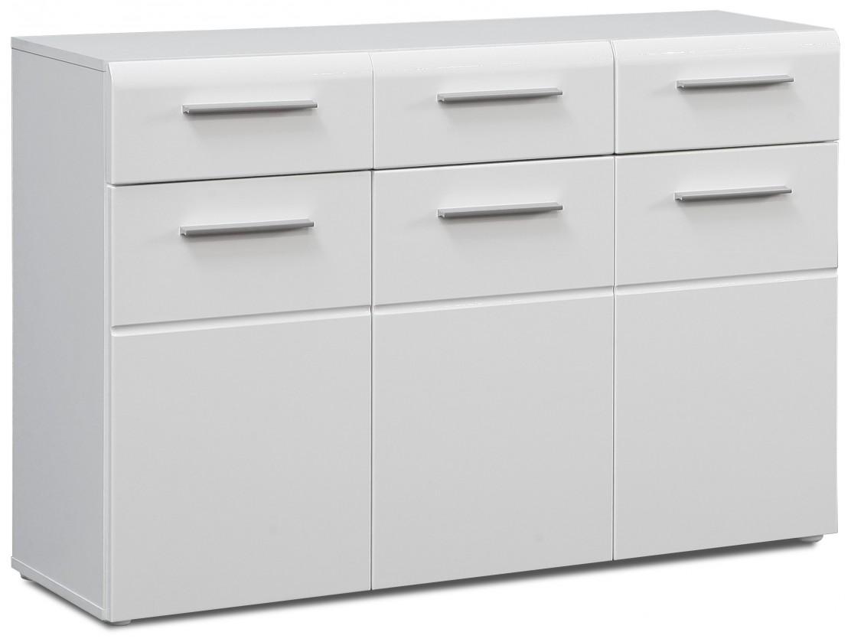 Bazar obývací pokoje Slate-STXK13-Q86(bílá mat/bílá lesk)
