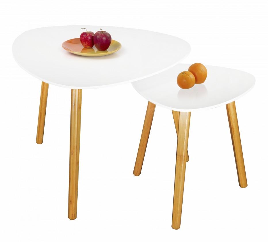 Bazar obývací pokoje Summer 3 - Konferenční stolek (bílá)
