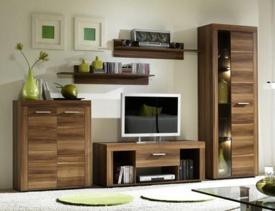Bazar obývací pokoje Tako - obývací stěna (švestka)