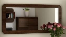 Bazar předsíně Link - Zrcadlo (dub chocolate)