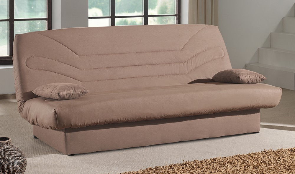 Bazar sedací soupravy Clic Clac-Pohovka,rozkl,matrace