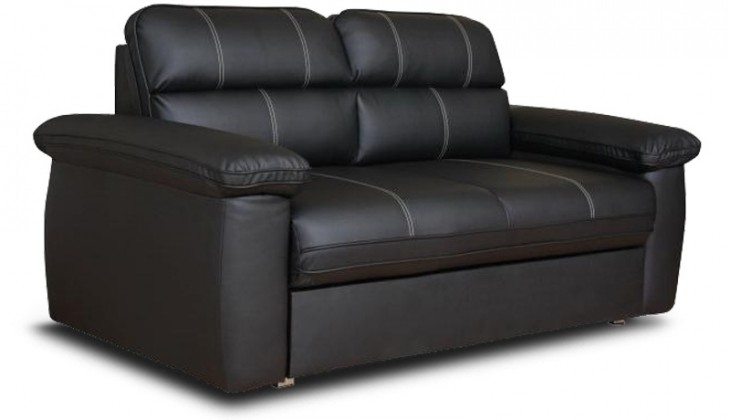 Bazar sedací soupravy Cordoba - 2sedák 2ES (Soft černá)
