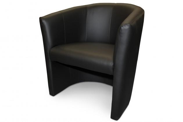 Bazar sedací soupravy Cube - Křeslo (tarex 900 černá)
