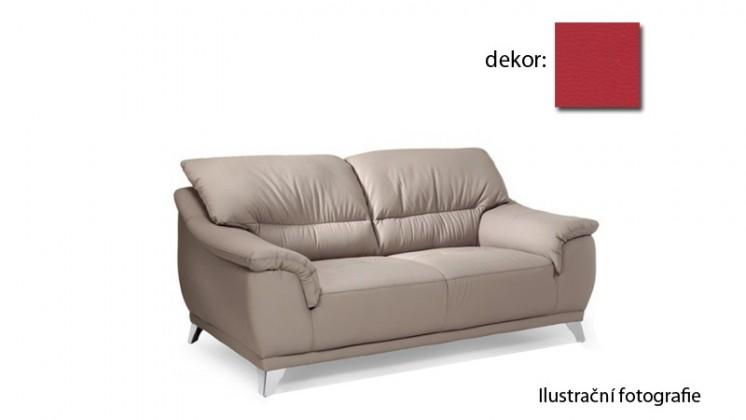 Bazar sedací soupravy Dunja - dvojsedák (pulse - red D205, sk. R1)