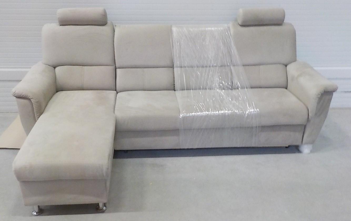 Bazar sedací soupravy Duo Panama - Roh levý, rozkládací, úložný prostor