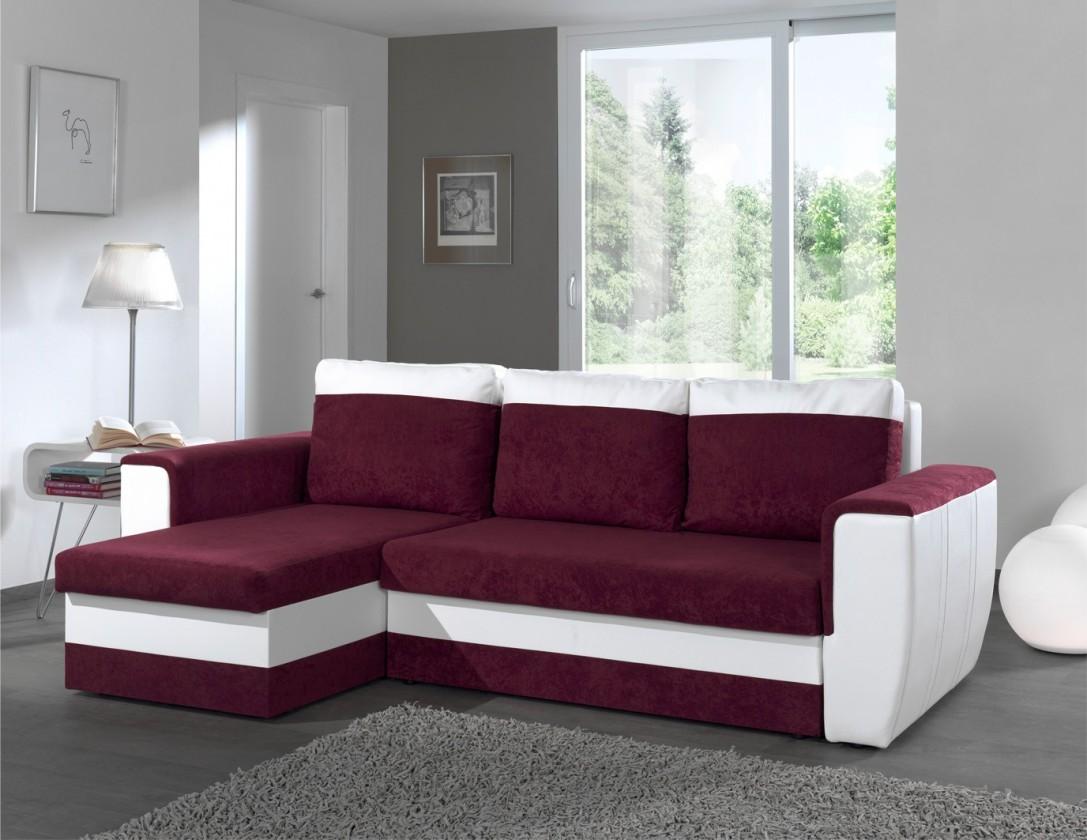 Bazar sedací soupravy Hera-univerzální  (microfiber prune-hl.látka/pvc white-korpus)