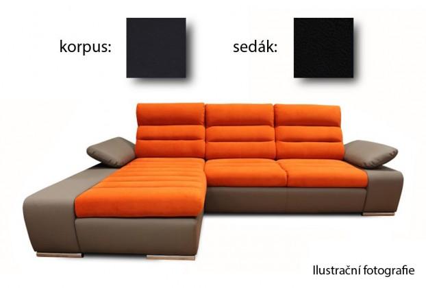 Bazar sedací soupravy Korfu - levý roh (soft 11 / aruba 19)