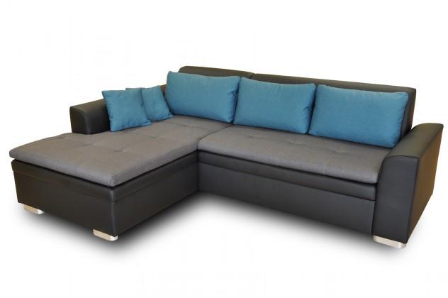 Bazar sedací soupravy Rohová sedačka rozkládací Vanilla levý roh (L35/M1100/L85)