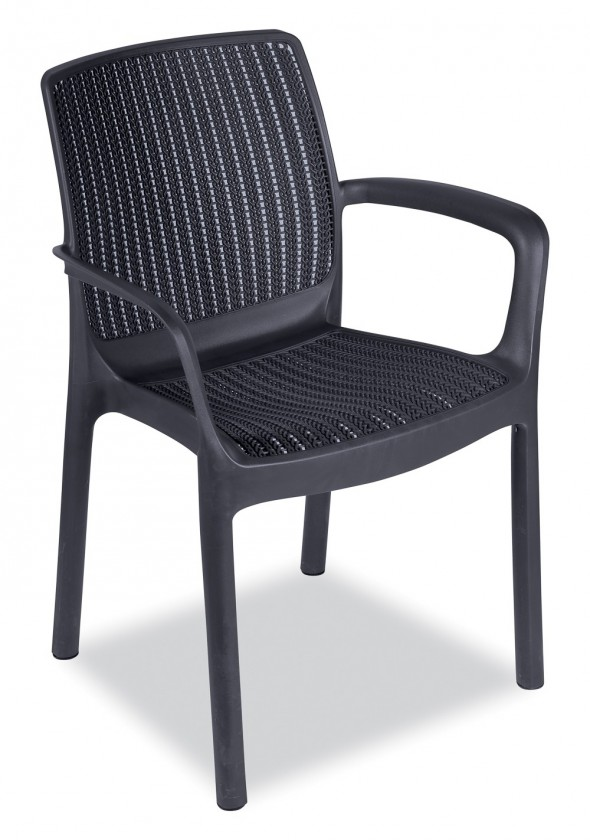 Bazar zahrada Paradise - Židle (antracit)