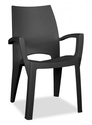 Bazar zahrada Spring - Židle (antracit)