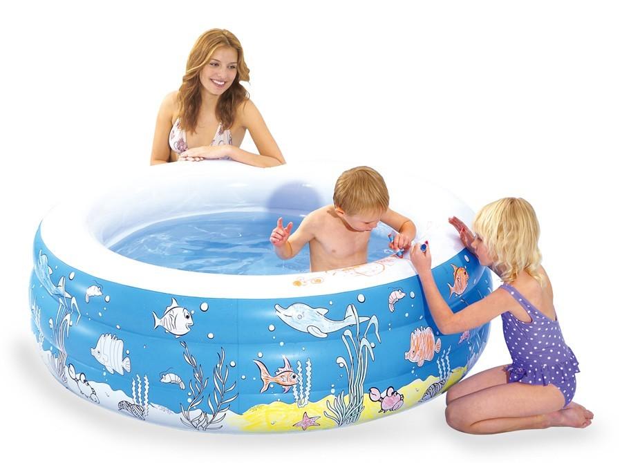 Bazén, příslušenství Bazén - Namaluj si mě (modrá)