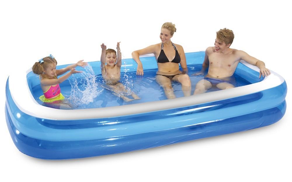 Bazén, příslušenství Bazén - Obdélník (modrá)