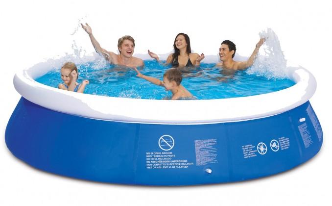 Bazén, příslušenství Bazén - Velký, s filtrací (modrá)
