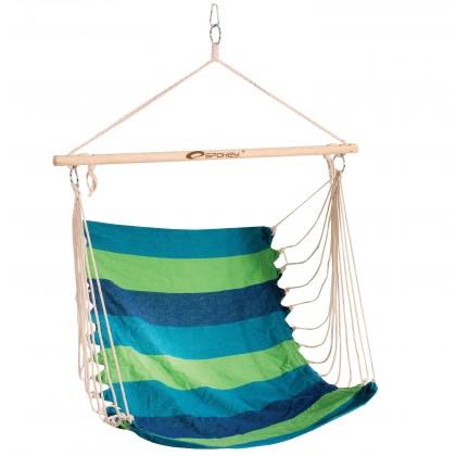 Bench - Houpačka/sedátko (zelená, modrá)