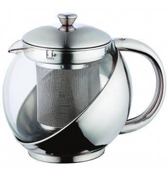 Bergner - konvice na čaj 0,75L (stříbrná)