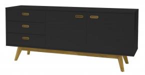 Bess - komoda, 2x dveře, 3x zásuvka