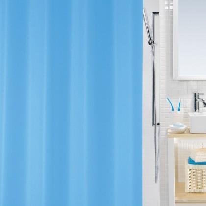 Bio-Sprchový závěs  180x200 cm(modrá)