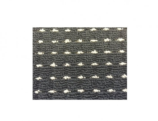 Birmingham - koberec, 150x80cm (100%PP, černá)
