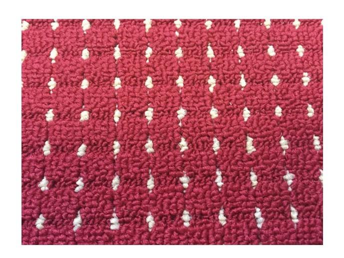 Birmingham - koberec, 200x140cm (100%PP, červená)