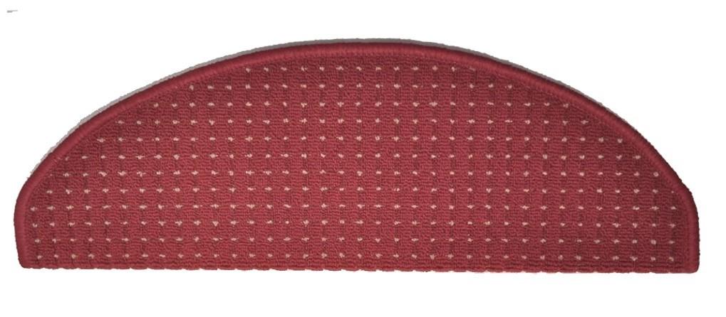 Birmingham - Schodový nášlap, 25x65 cm (červený)