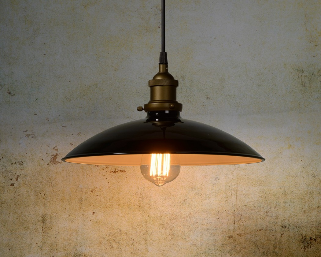 Bistro - stropní osvětlení, 60W, E27 (černá)