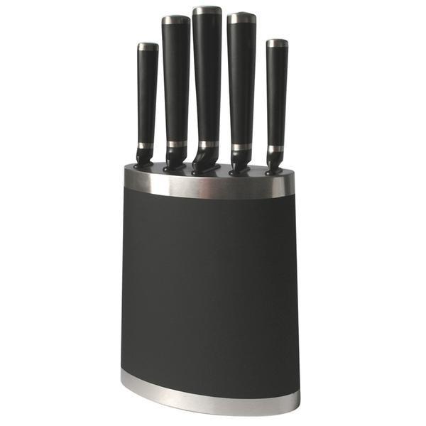 Blok na nože 263360 (plast,ocel,černá)