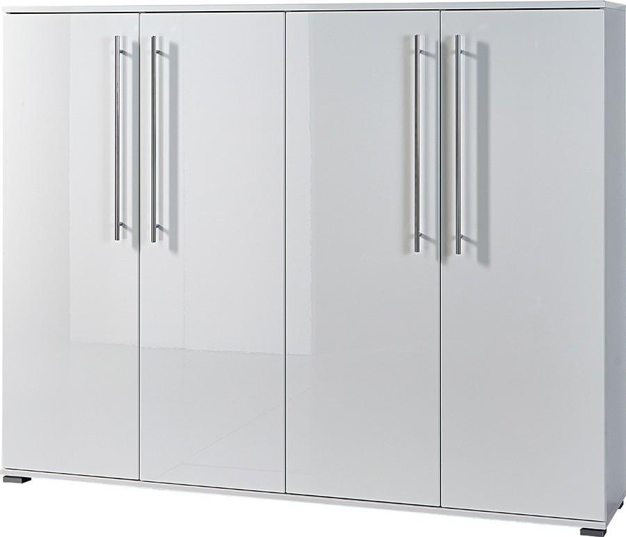 Botník GW-Inside - botník, 4x dveře (bílá)