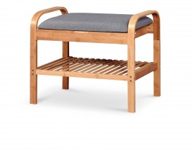 Botník Tarso mini (dřevo, šedá)