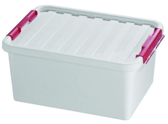 Box úložný s víkem (plast, 14l)