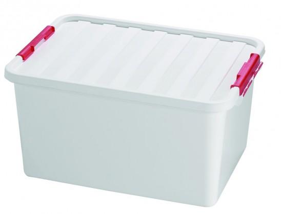 Box úložný s víkem (plast, 38l)