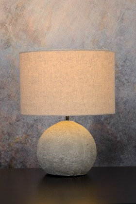 Boyd - lampička, 60W, E27 (šedá)