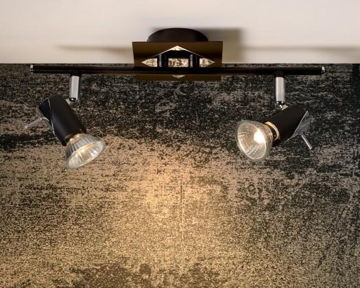 Brackx - stropní osvětlení, 50W, GU10 (černá)