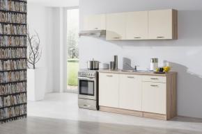 Bria - Kuchyňský blok 210 C (bardolino/vanilka lesk/bardolino)