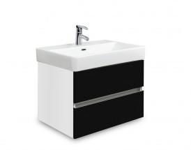 Brisbane - skříň s umyvadlem Laufen Pro S 55cm (bílá/černá)