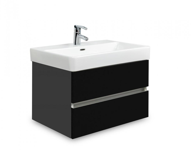 Brisbane - skříň s umyvadlem Laufen Pro S 60cm (antracit/černá)