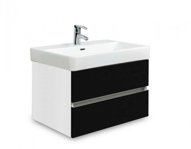 Brisbane - skříň s umyvadlem Laufen Pro S 60cm (bílá/černá)