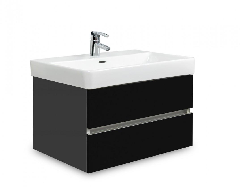 Brisbane - skříň s umyvadlem Laufen Pro S 65cm (antracit/černá)